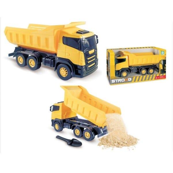 Brinquedo Caminhão Caçamba Basculante Strong - Nig Brinquedos
