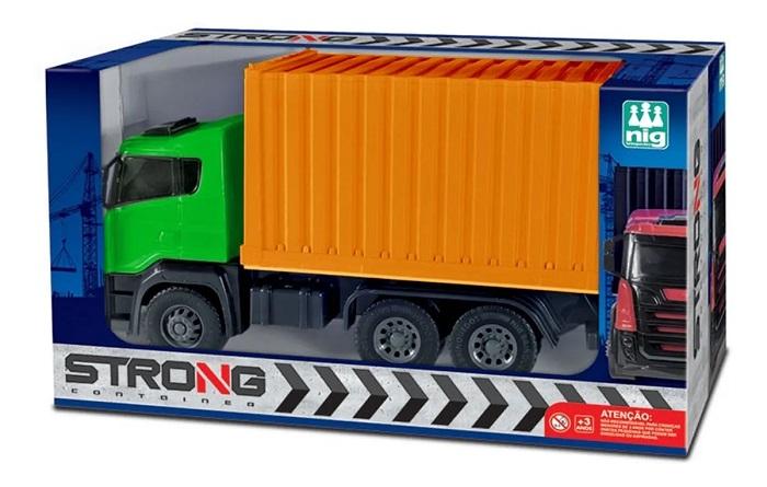 Brinquedo Caminhão Caçamba Strong Container - Nig Brinquedos