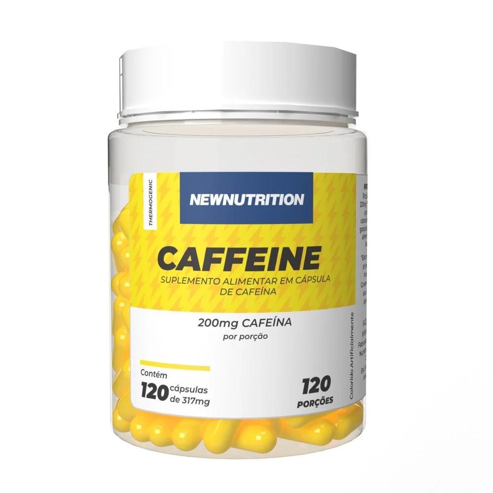 Cafeína 200mg 120 cápsulas