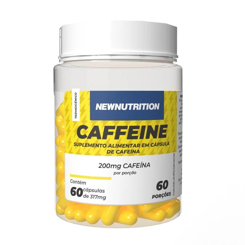 Cafeína 200mg 60 cápsulas