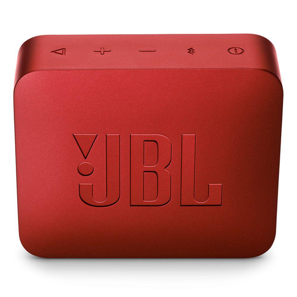Caixa de Som JBL GO 2 - Vermelho