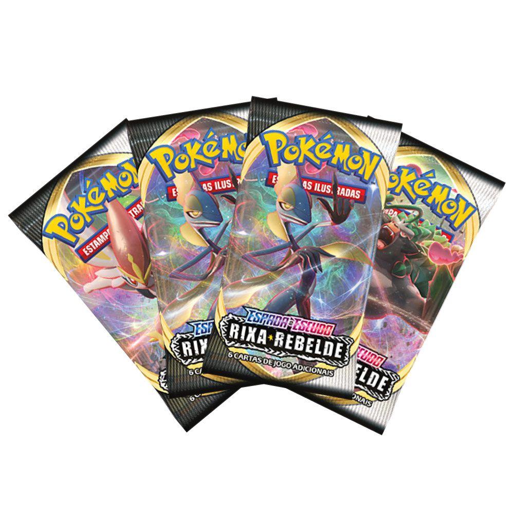 Cards Pokémon EE2 Blister Quadruplo - Rixa Rebelde