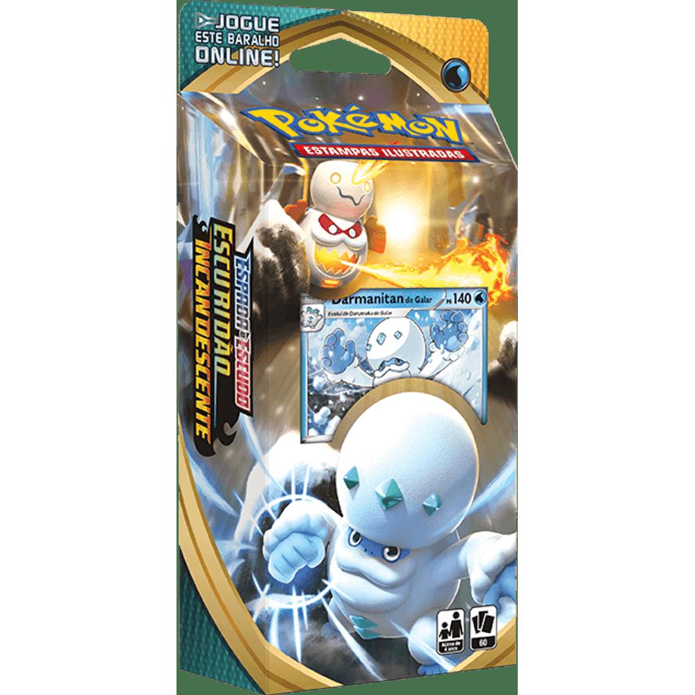 Cards Pokémon EE3 Starter Deck Darmanitan de Galar - Escuridão Incandescente