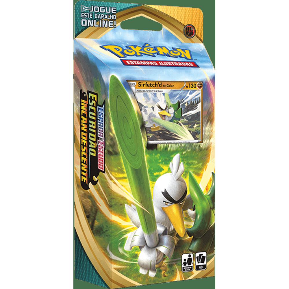 Cards Pokémon EE3 Starter Deck Sirfetchd de Galar - Escuridão Incandescente