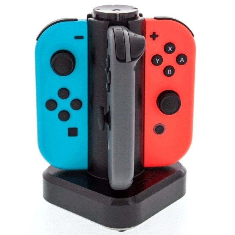 Carregador Quadruplo Joy-Con Bionik - Nintendo Switch (Tetra Power)
