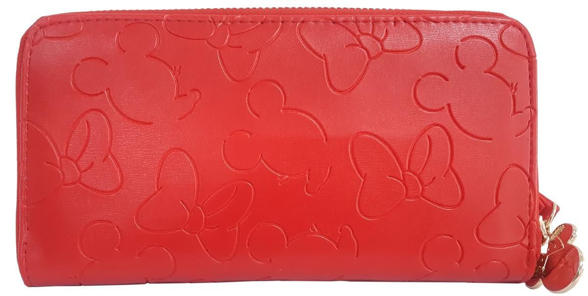 Carteira Feminina Mickey Vermelha