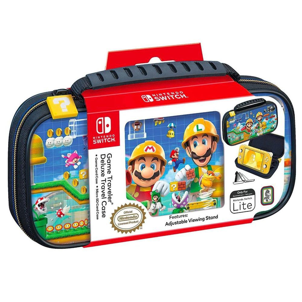 Case de Viagem Mário Maker - Nintendo Switch
