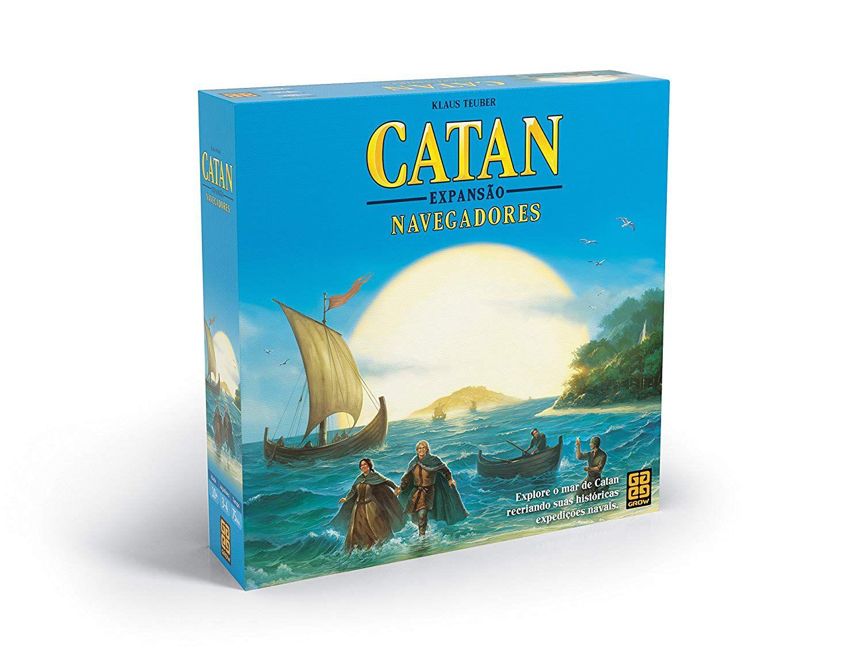 Jogo Catan - Expansão Navegadores