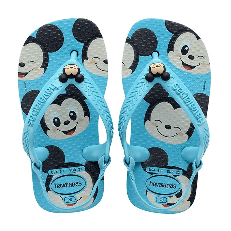 Chinelo Havaianas Baby Disney Classic Mickey - Azul