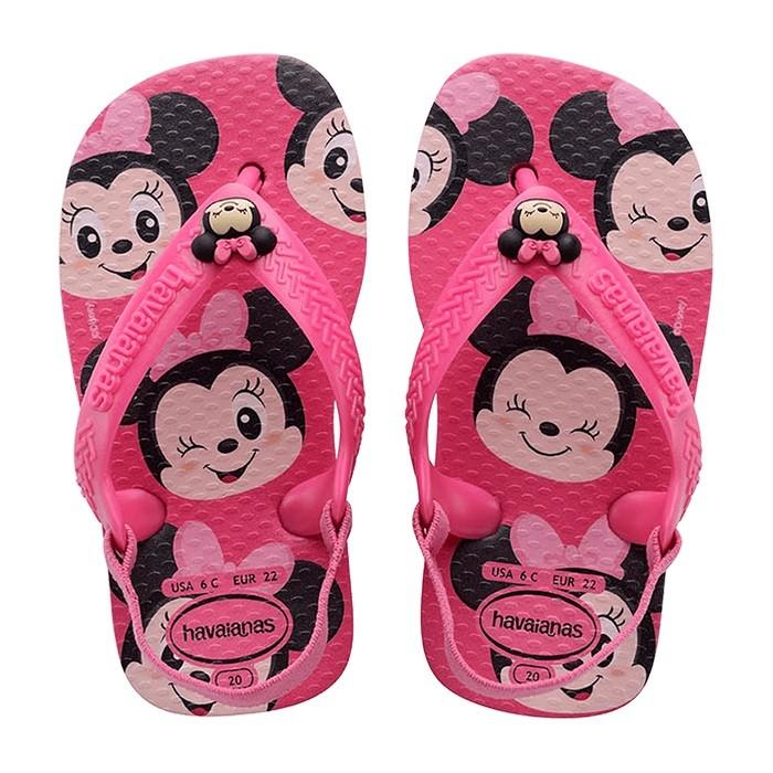 Chinelo Havaianas Baby Disney Classic Mickey - Rosa