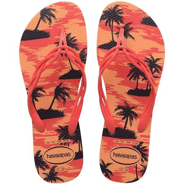 Chinelo Havaianas Fashion Sweet Summer - Pêssego