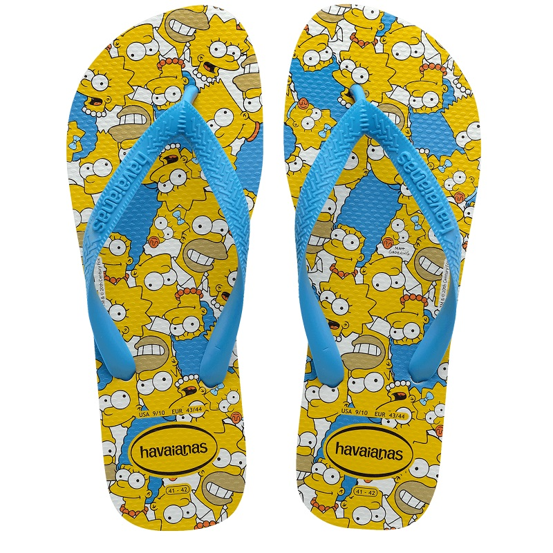 Chinelo Havaianas Simpsons - Amarelo