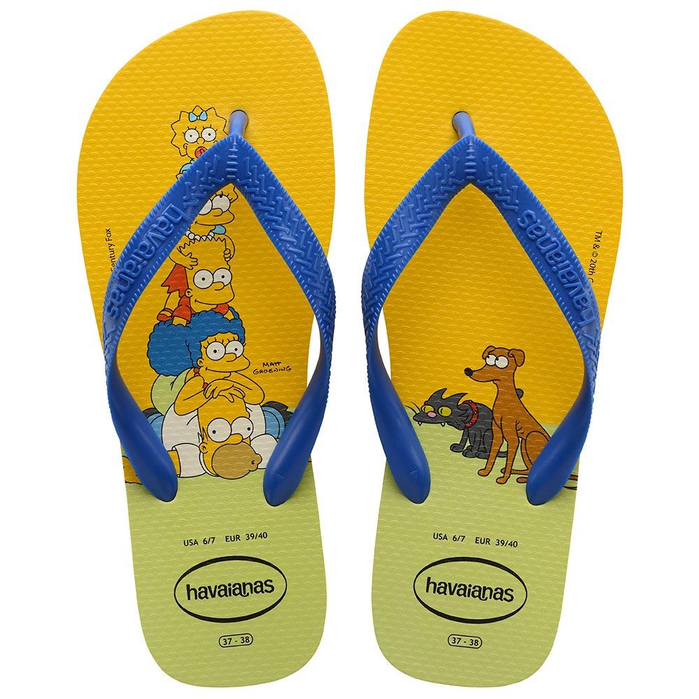 Chinelo Havaianas Simpsons - Amarelo Cítrico