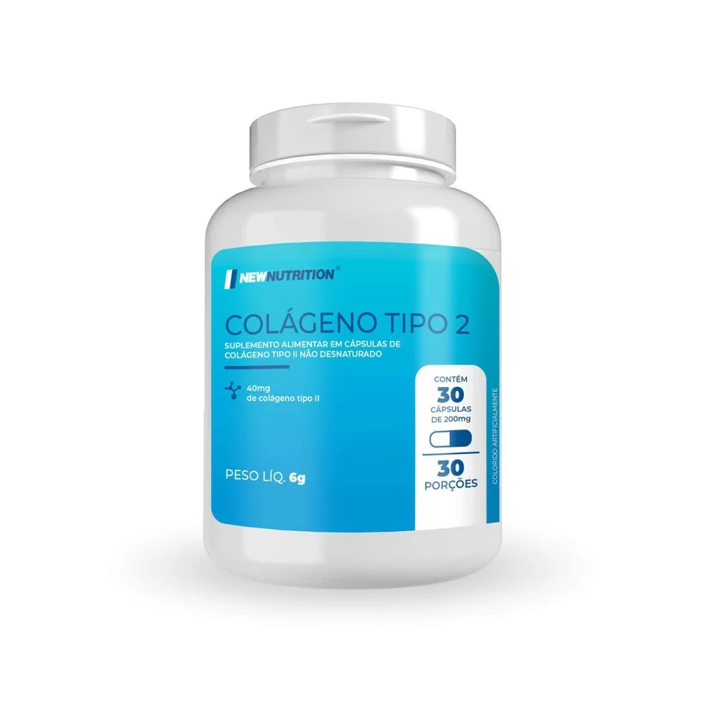 Colágeno Tipo 2 40mg 30 porções (puro)