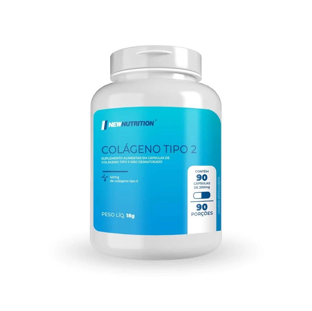 Colágeno Tipo 2 40mg 90 porções (puro)