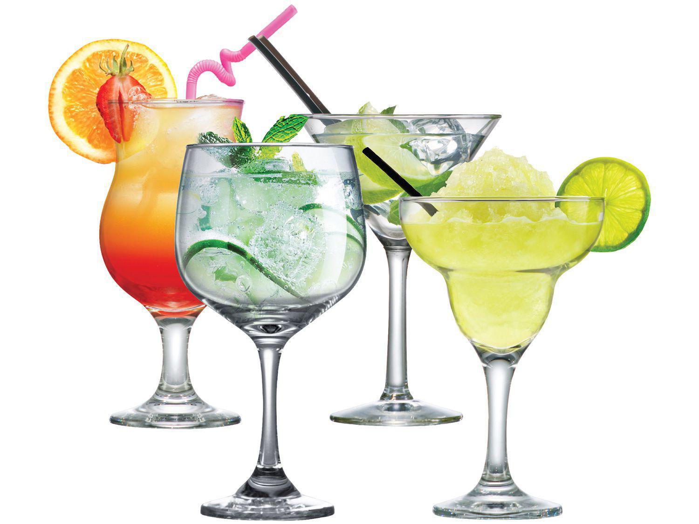 Conjunto Cocktail Mixologista Drinks com 4 Peças - Ruvolo