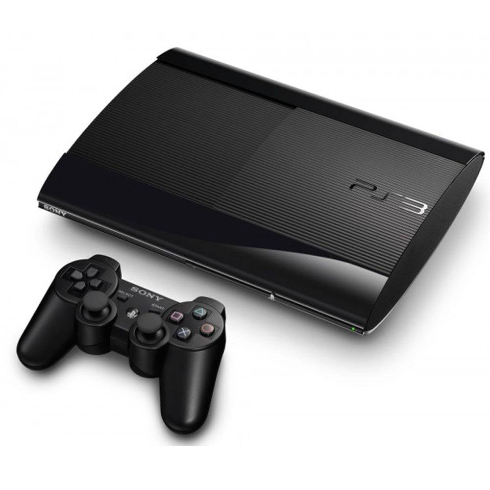 Console Playstation 3 Ultra Slim 500gb Com 70 Jogos