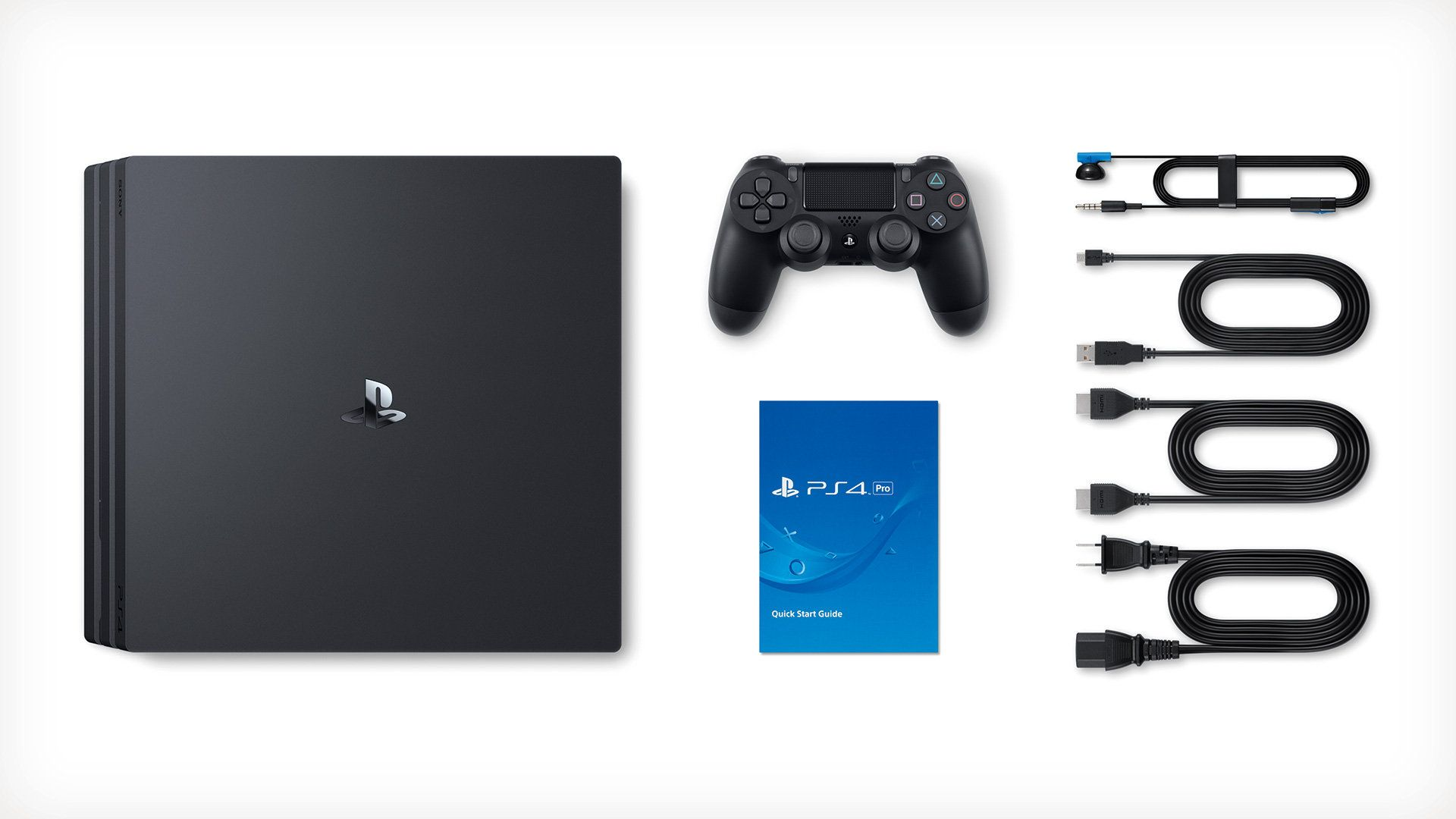 Console Playstation 4 Pro 4K - 1 Terabyte (2 Controles)