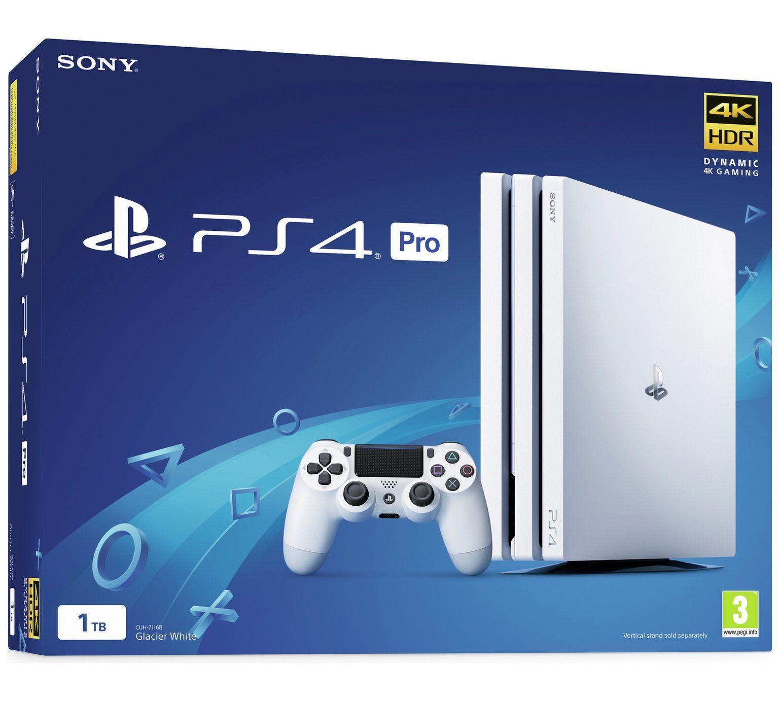 Console Playstation 4 Pro 4K - 1 Terabyte - Branco
