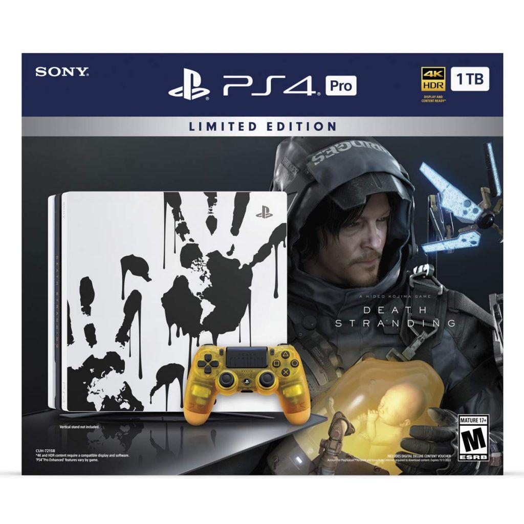 Console Playstation 4 Pro 4K - 1 Terabyte - Edição Death Stranding