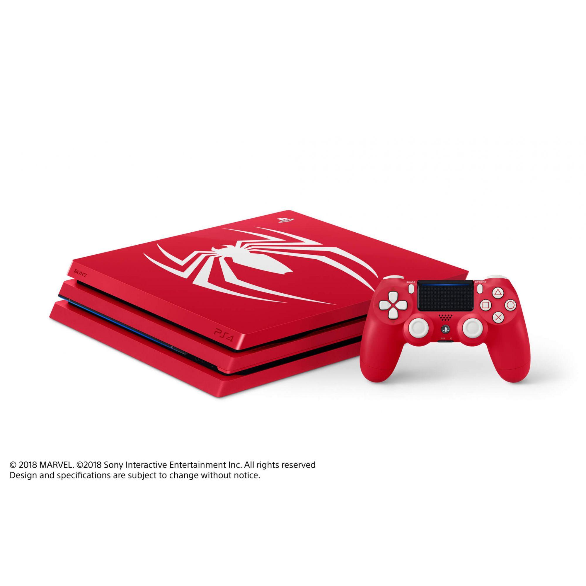 Console Playstation 4 Pro 4K - 1 Terabyte - Edição Homem-Aranha