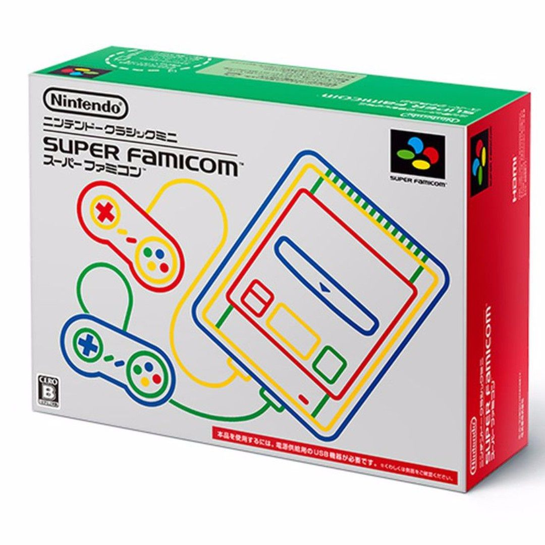Console Super Nintendo Farmicom (SNES) Mini - Nintendo