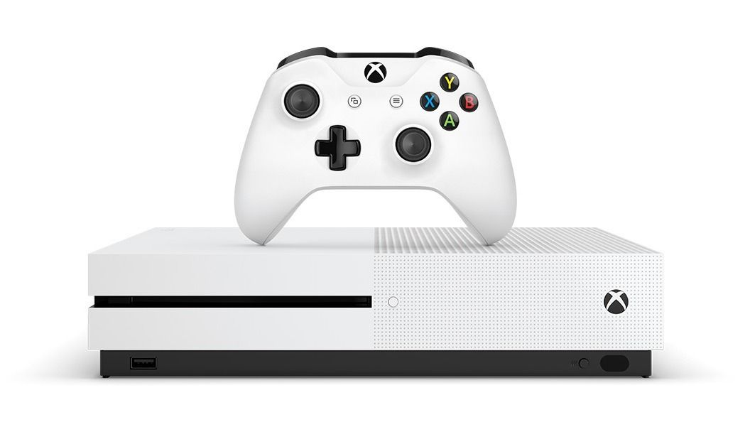 Console Xbox One S - 1 Terabyte + HDR + 4K Streaming
