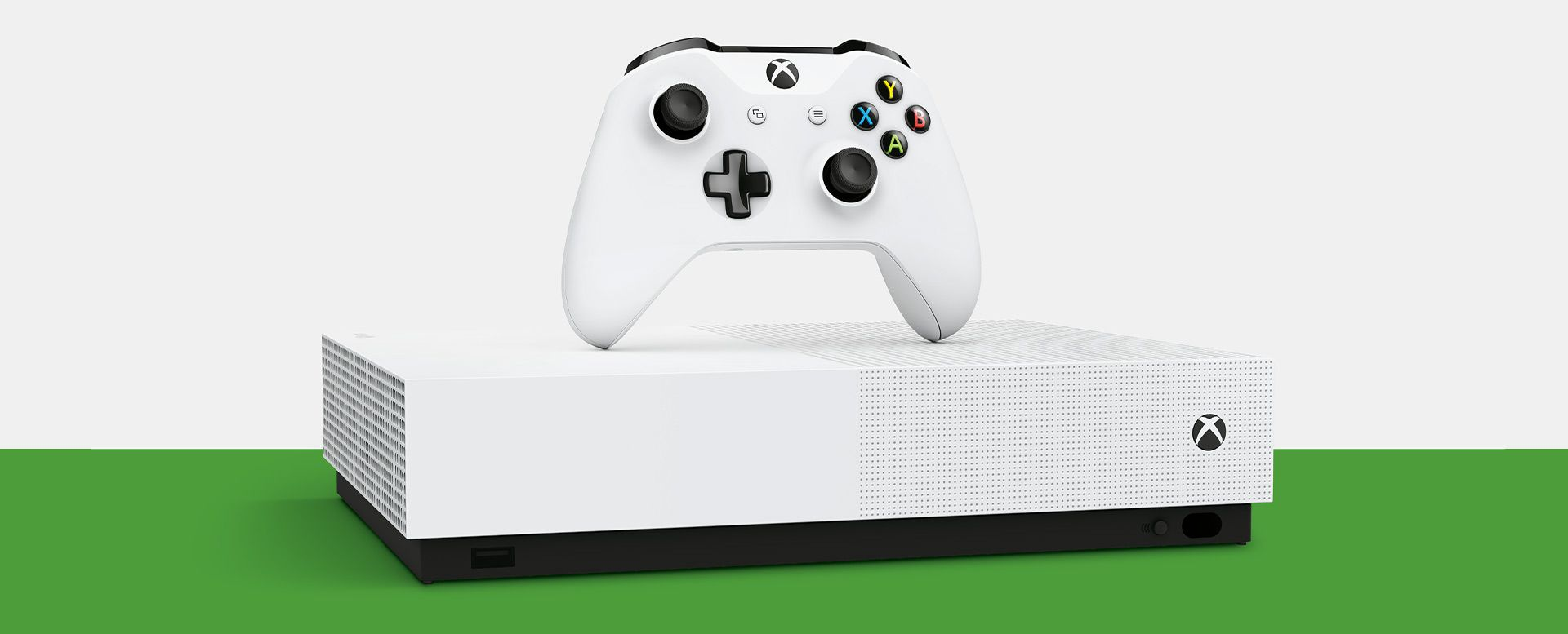 Console Xbox One S - 1 Terabyte + HDR + 4K Streaming All Digital (2 Controles)