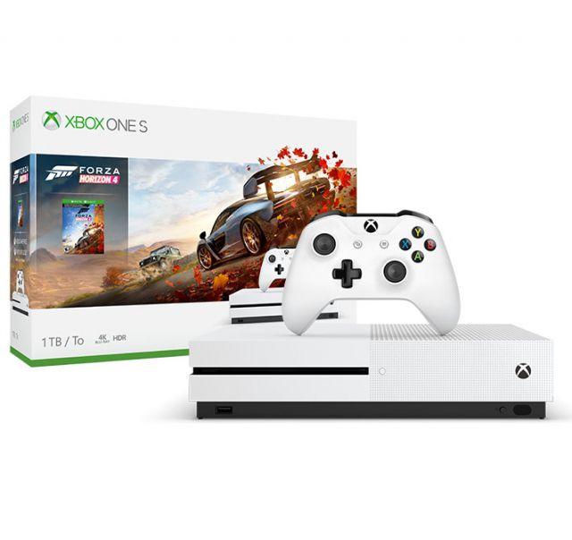 Console Xbox One S - 1 Terabyte + HDR + 4K Streaming + Jogo Forza Horizon 4