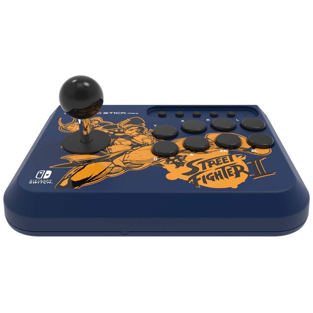 Controle Arcade Hori Fighting Stick Mini Street Fighter II Chun-Li/Cammy - Nintendo Switch