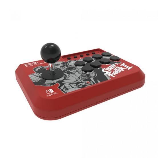 Controle Arcade Hori Fighting Stick Mini Street Fighter II - Nintendo Switch