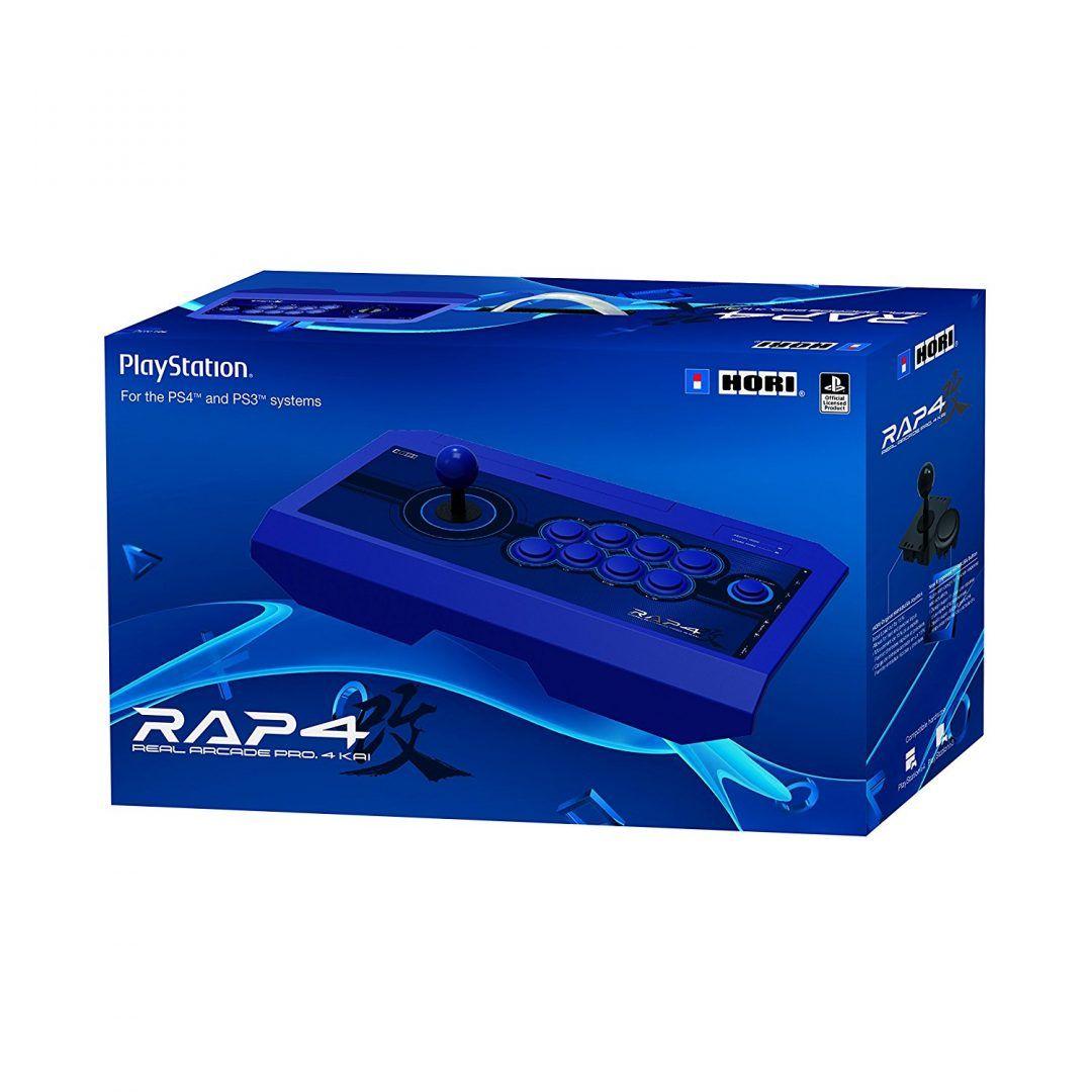 Controle Arcade Hori Rap 4 Real Arcade Pro 4 Kai Ps4/ps3/pc - Azul
