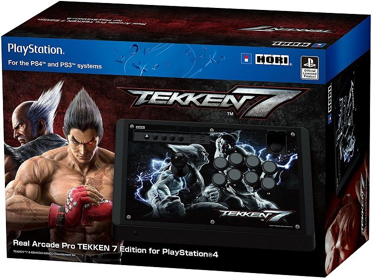 Controle Arcade Hori Rap 4 Real Arcade Pro 4 Kai Ps4/ps3/pc - Tekken 7