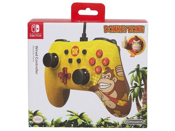 Controle Com Fio USB Donkey Kong Power A - Switch / PC