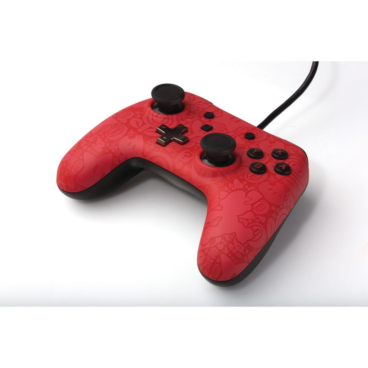 Controle Com Fio USB Plus Super Mario Power A - Switch / PC