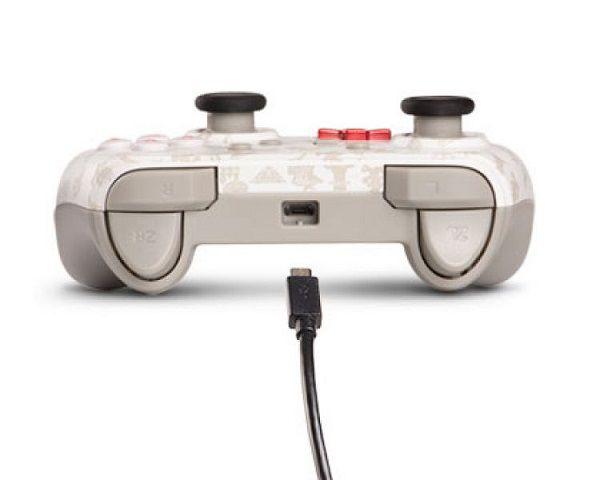 Controle Com Fio USB Super Mario Odyssey Power A - Switch / PC