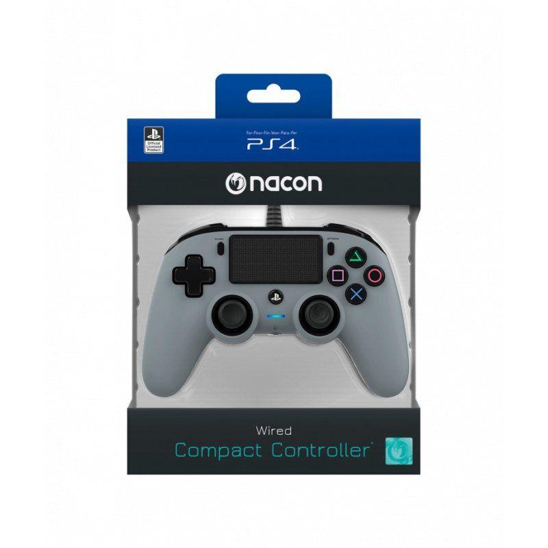 Controle Nacon com Fio - Ps4 (Cinza)
