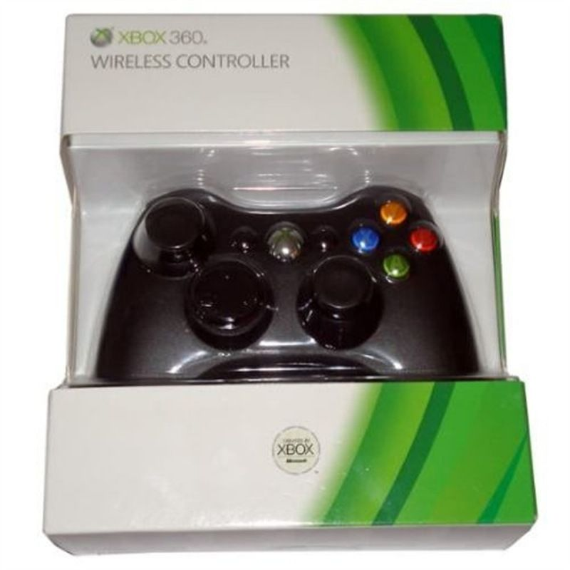Controle Original Microsoft Wireless Xbox 360 - Preto