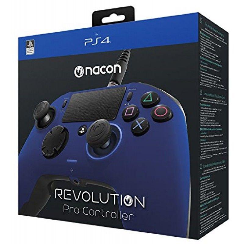 Controle Revolution Pro Nacon Ps4 - Azul