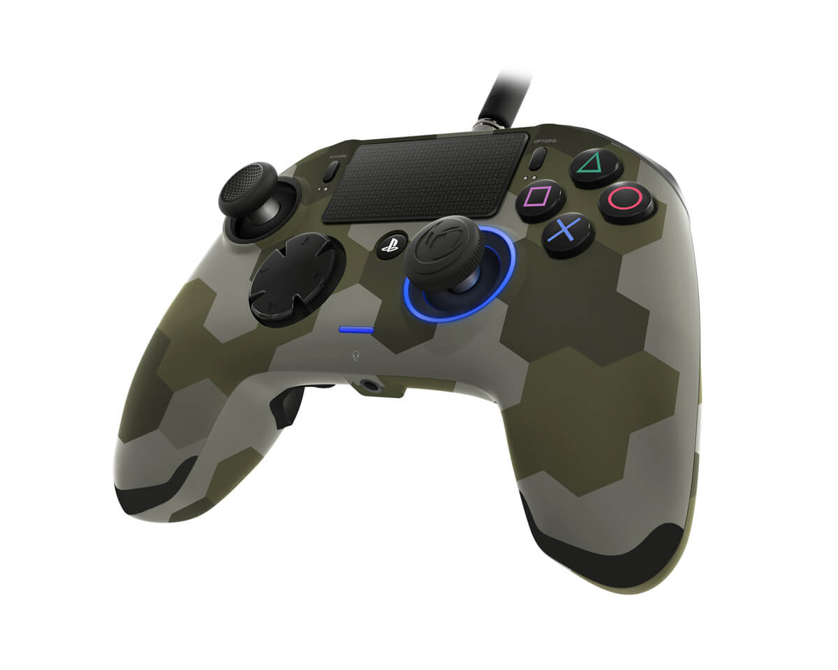 Controle Revolution Pro Nacon Ps4 - Camuflado Verde