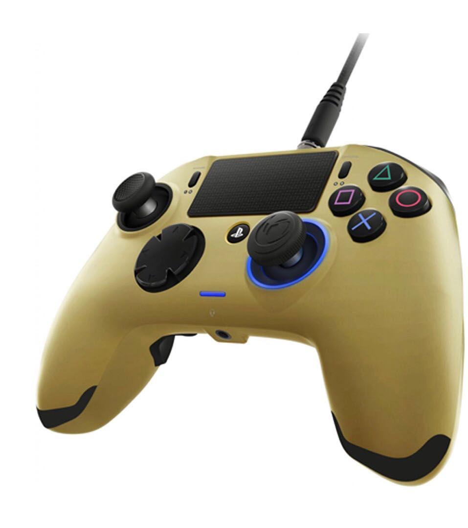 Controle Revolution Pro Nacon Ps4 - Dourado