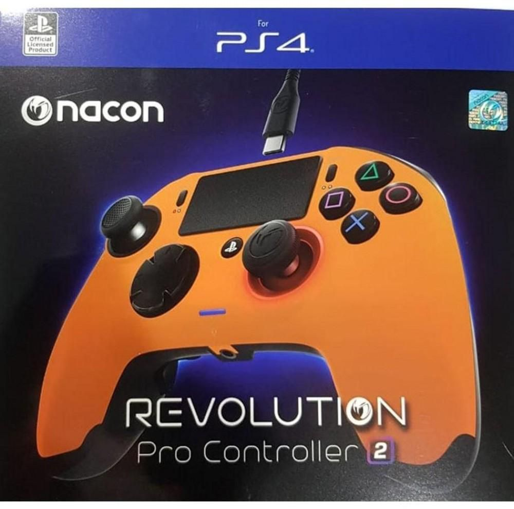Controle Revolution Pro Nacon Revolution V2 Ps4 - Laranja