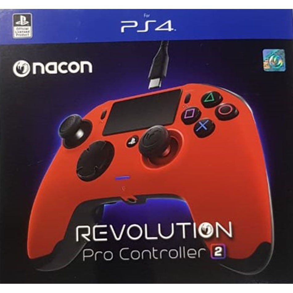 Controle Revolution Pro Nacon Revolution V2 Ps4 - Vermelho