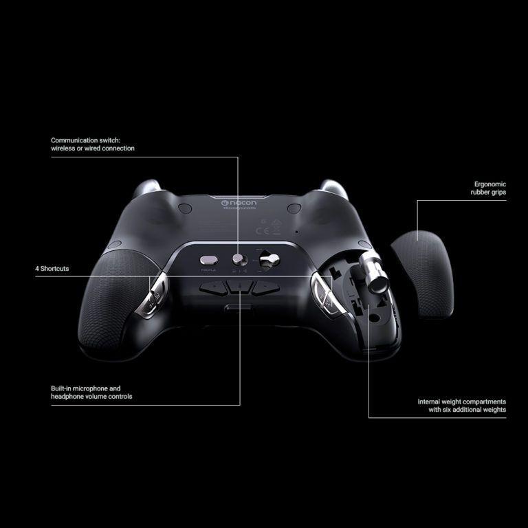 Controle Revolution Pro Nacon Unlimited V3 Ps4 - Preto