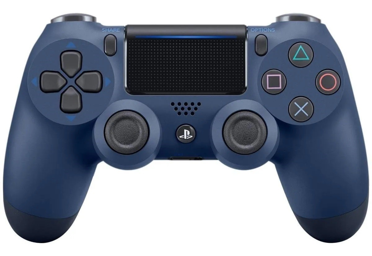 Controle Sem Fio Dualshock Ps4 - Azul Marinho