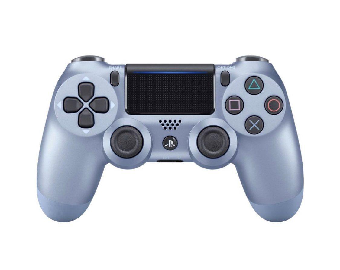 Controle Sem Fio Dualshock Ps4 - Azul Titânio