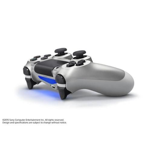 Controle Sem Fio Dualshock Ps4 - Prateado