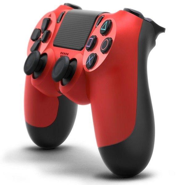 Controle Sem Fio Dualshock Ps4 - Vermelho