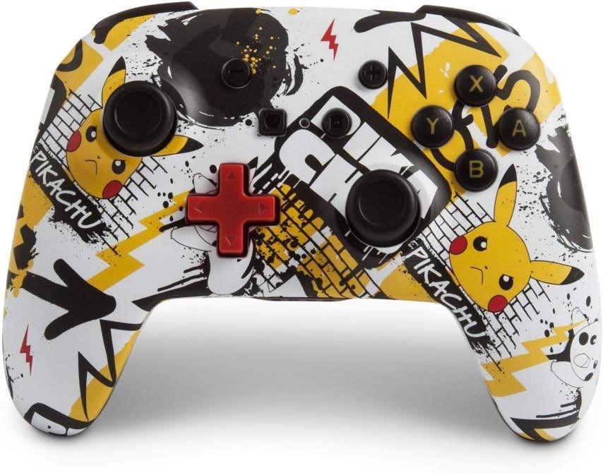 Controle Sem Fio Enhanced Pikachu Grafite - Nintendo Switch