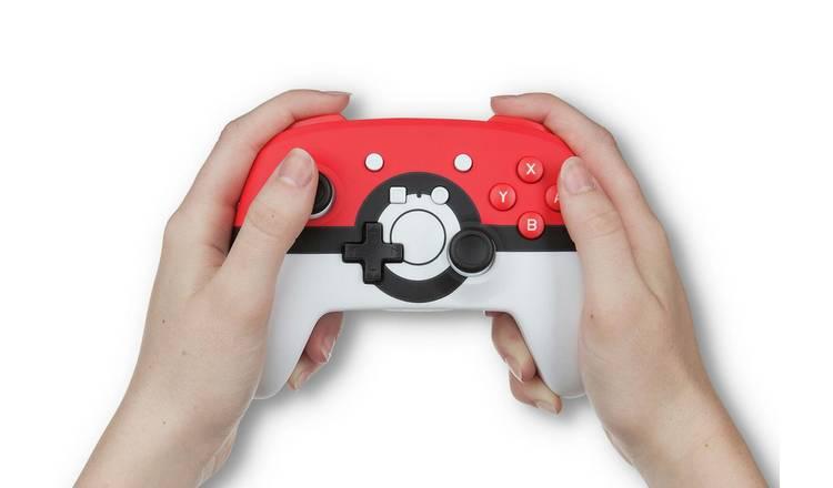 Controle Sem Fio Enhanced Pokebola - Nintendo Switch